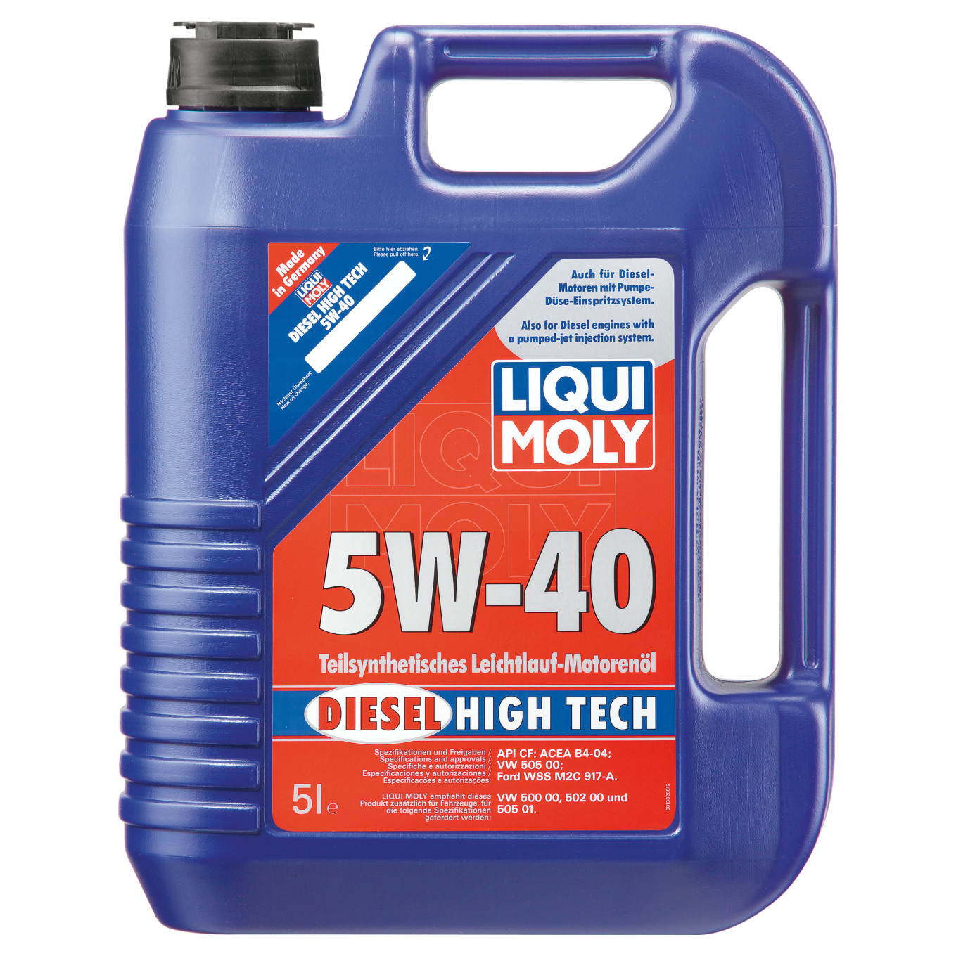 liqui moly diesel high tech 5w 40 5 l preisvergleich. Black Bedroom Furniture Sets. Home Design Ideas