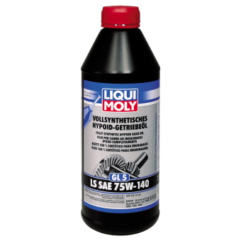 liqui moly gl5 ls sae 75w 140 vs hypoid. Black Bedroom Furniture Sets. Home Design Ideas