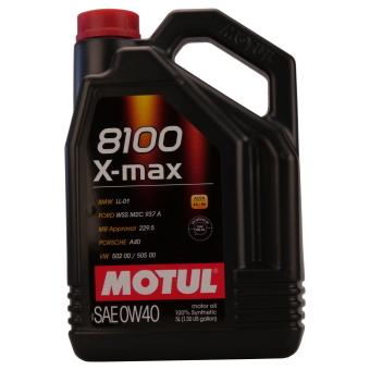 8100 X-max 0W-40
