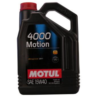 4000 Motion 15W-40