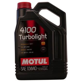 4100 Turbolight 10W-40