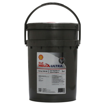 Shell Helix Ultra 10W-60 Racing 20 Litres Bidon