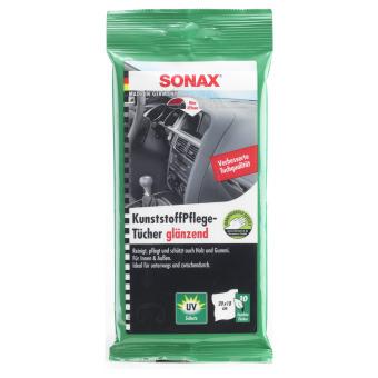 Sonax Chiffons Entretien Plastique brillant 10 Pièces 0