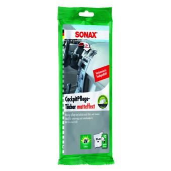 Sonax Chiffons Entretien Tableau de bord effet mat 10 Pièces 0