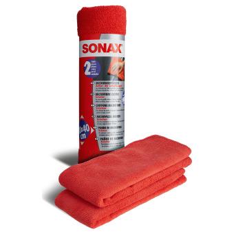 Sonax MicrofaserTücher Außen (2 St.) 2 Stück
