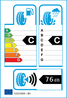 Etiqueta UE do pneu / classes de eficiência