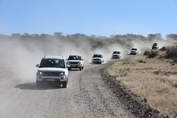 Landrover Tour in Namibia