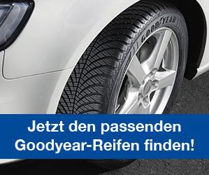 Jetzt den passenden Goodyear Reifen finden