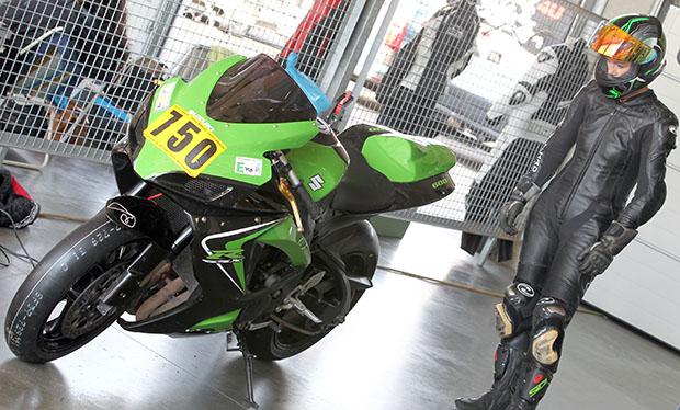 Motorradreifendirekt Track-Time 2017 Sabine Kastner Bridgestone