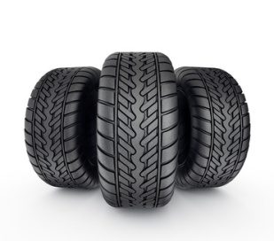 Trois pneus