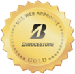 GOLD for autobandenmarkt.be from Bridgestone and TÜV Rheinland