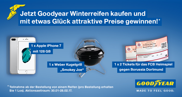 goodyear gewinnspiel reifen online g nstig kaufen. Black Bedroom Furniture Sets. Home Design Ideas