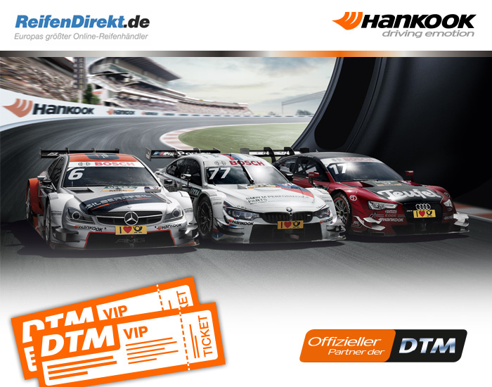 hankook dtm gewinnspiel reifen online g nstig kaufen. Black Bedroom Furniture Sets. Home Design Ideas