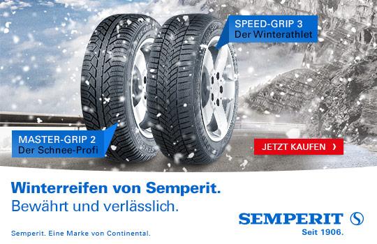 semperit winter reifen, master-grip 2, speed-grip 3