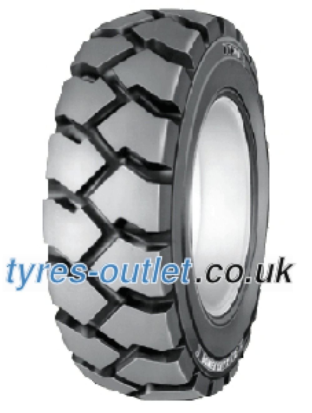 BKT Power Trax HD Set ( 8.15 -15 14PR TT SET - Tyres with tube, NHS )