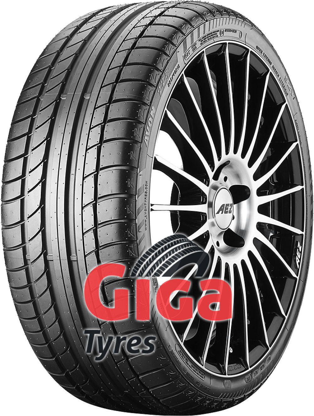Avon ZZ5 ( 255/45 R18 99Y with Rim flange protection )