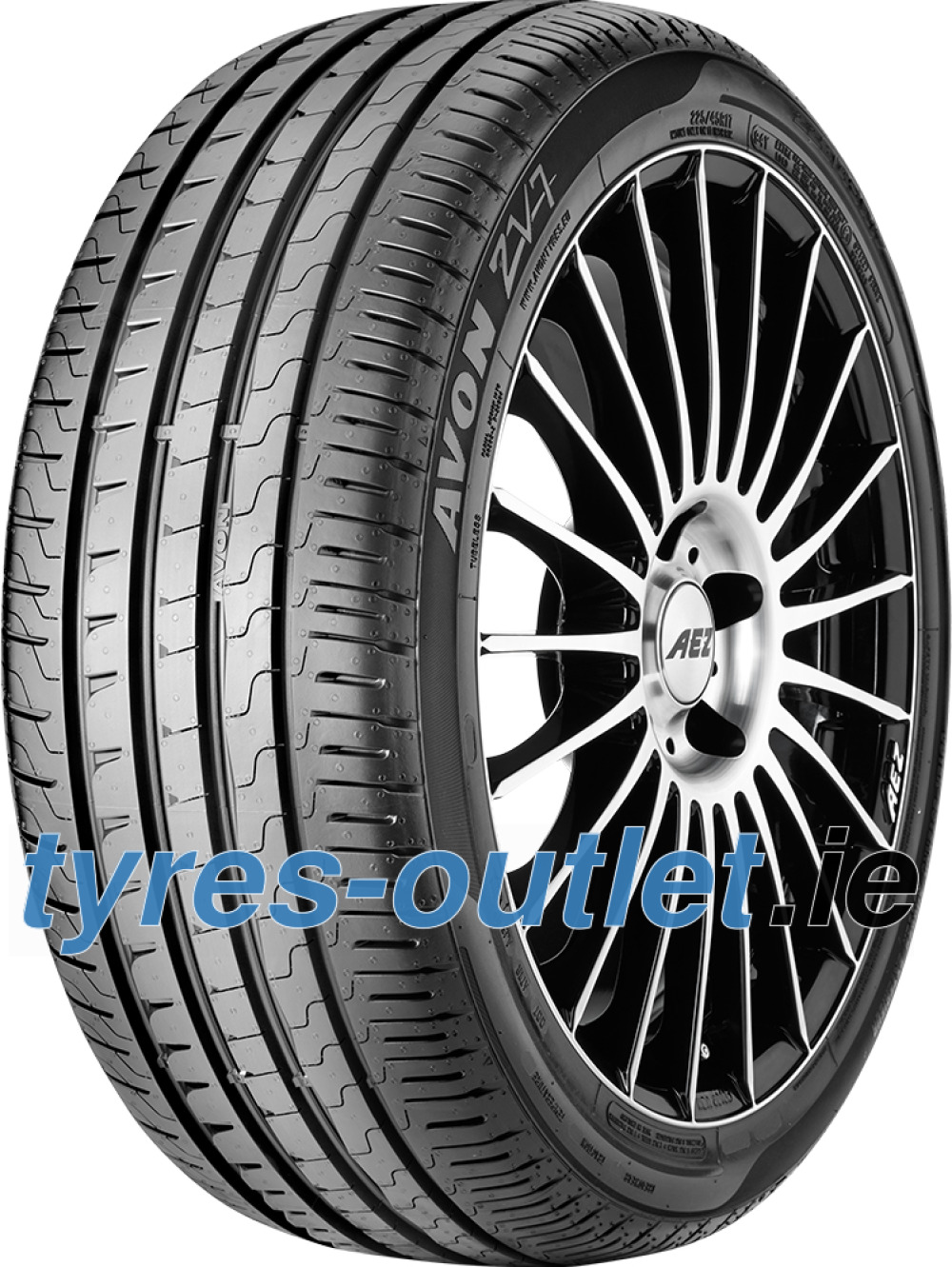 Avon ZV7 ( 205/45 R16 83W with Rim flange protection )