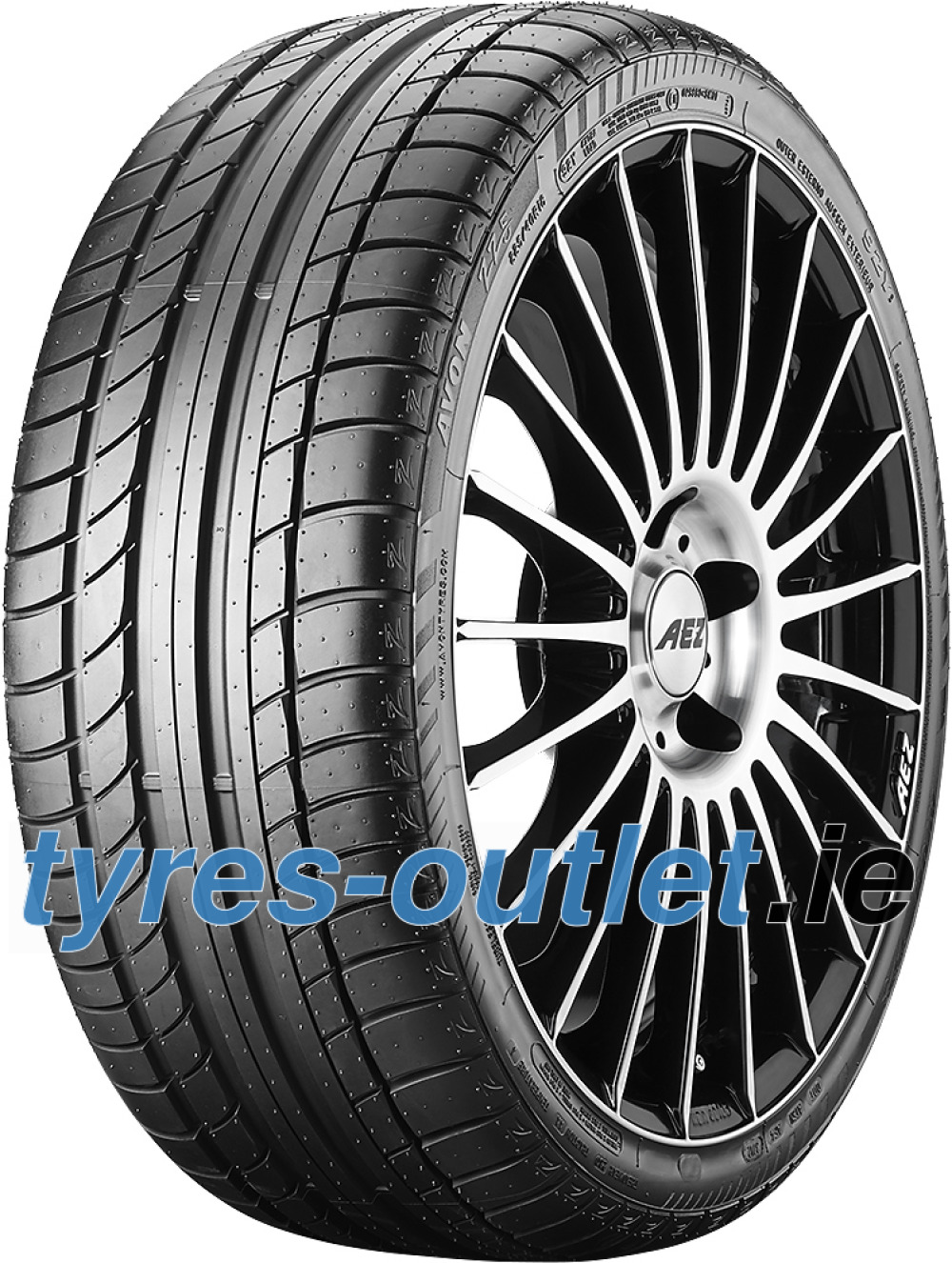 Avon ZZ5 ( 245/40 R18 93Y with Rim flange protection )
