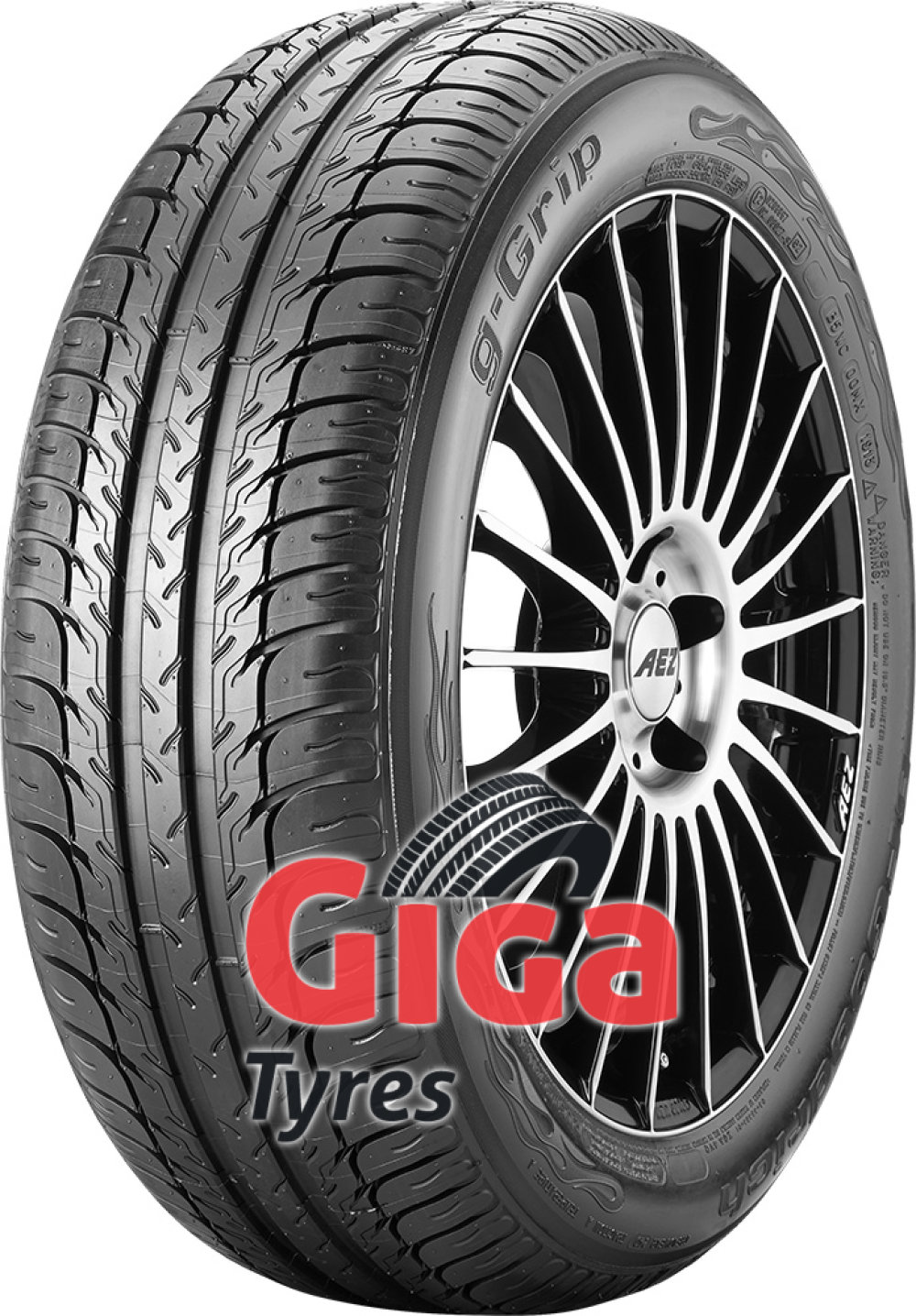 BF Goodrich g-Grip ( 195/45 R15 78V with rim protection ridge (FSL) )