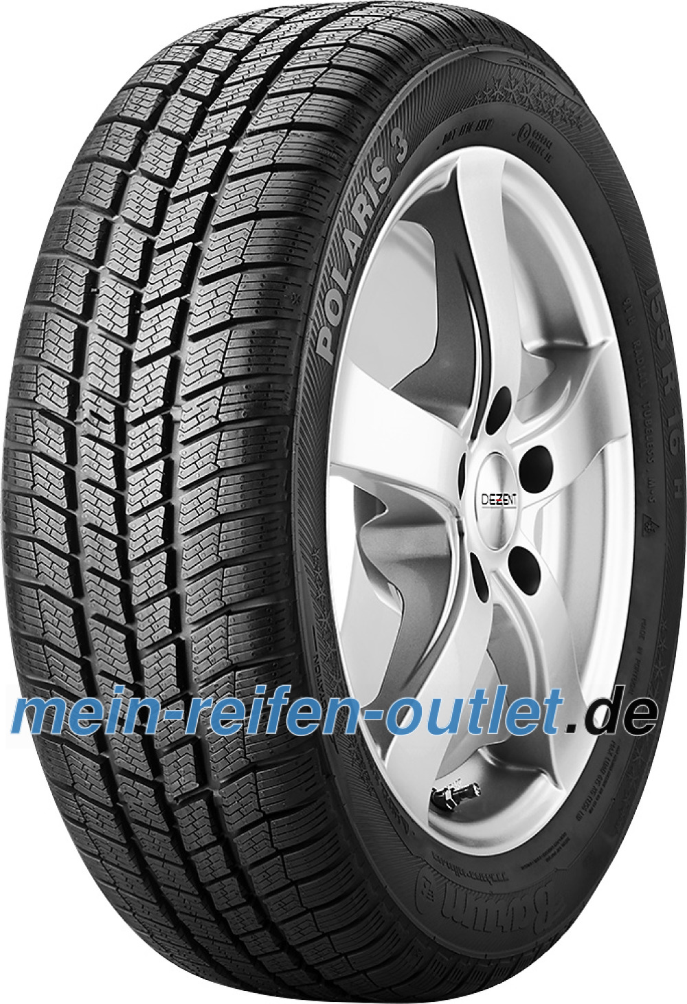Barum Polaris 3 ( 205/50 R17 93H XL , mit Felgenrippe )