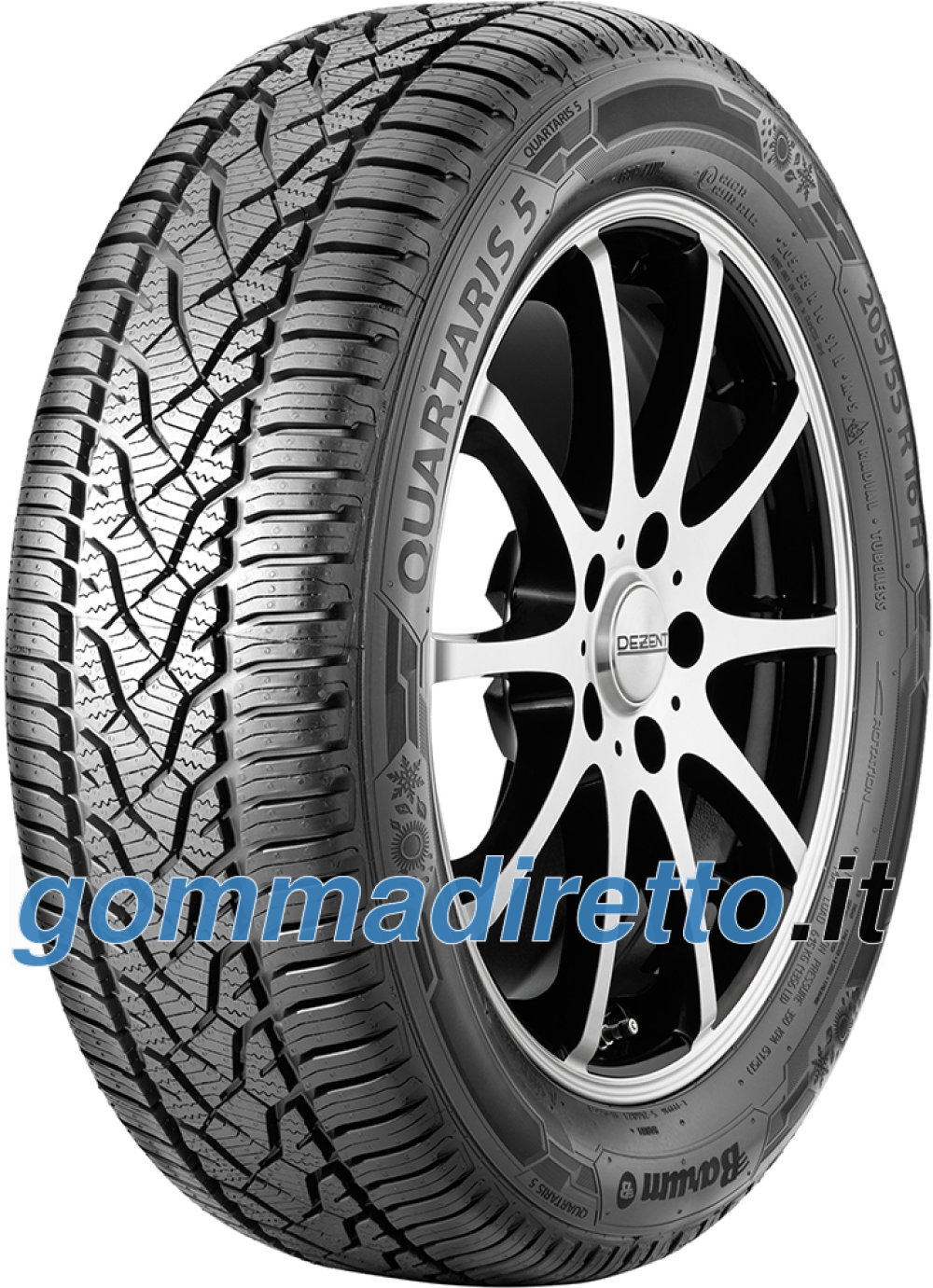 Image of Barum Quartaris 5 ( 155/70 R13 75T )