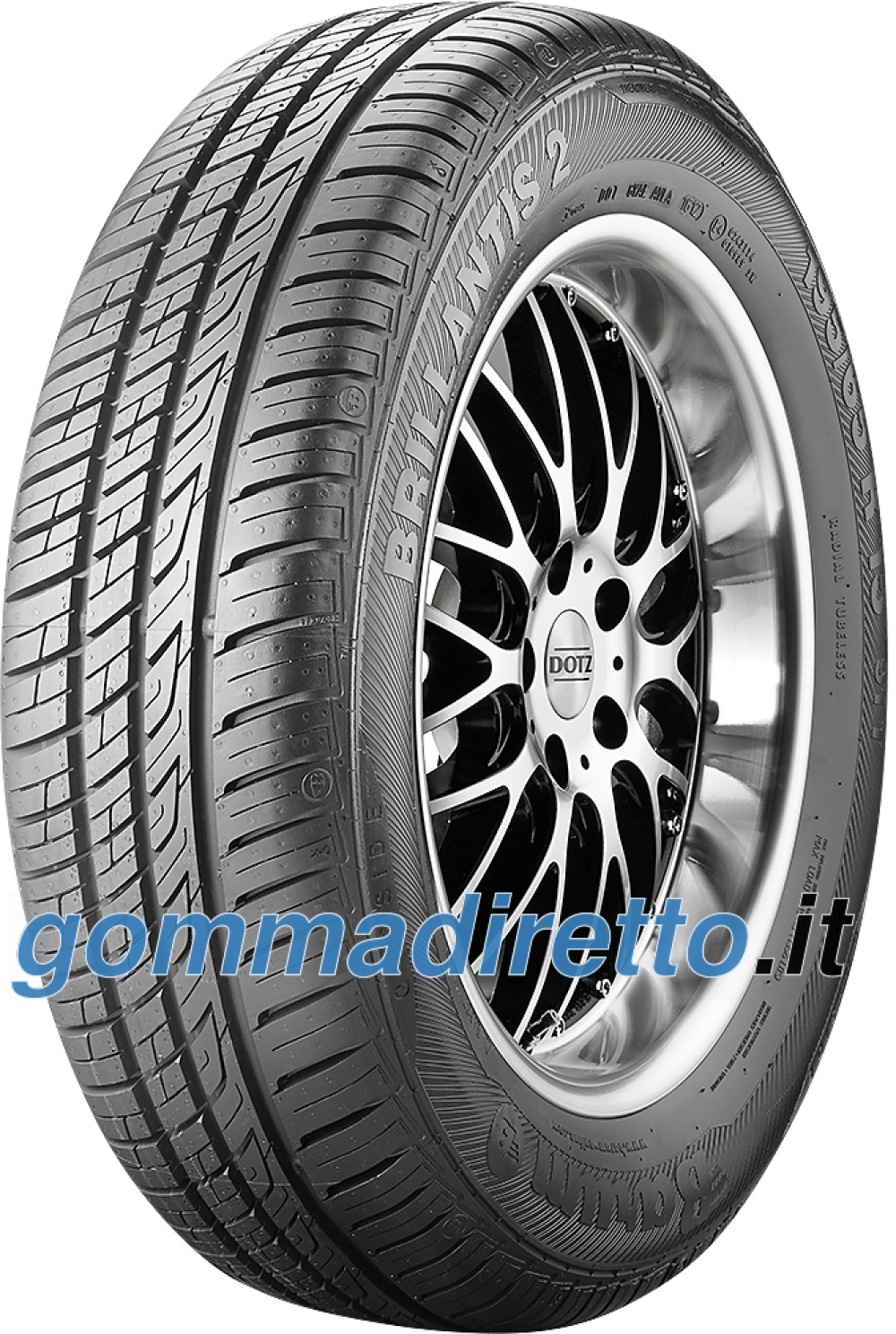 Image of Barum Brillantis 2 ( 145/80 R13 75T )