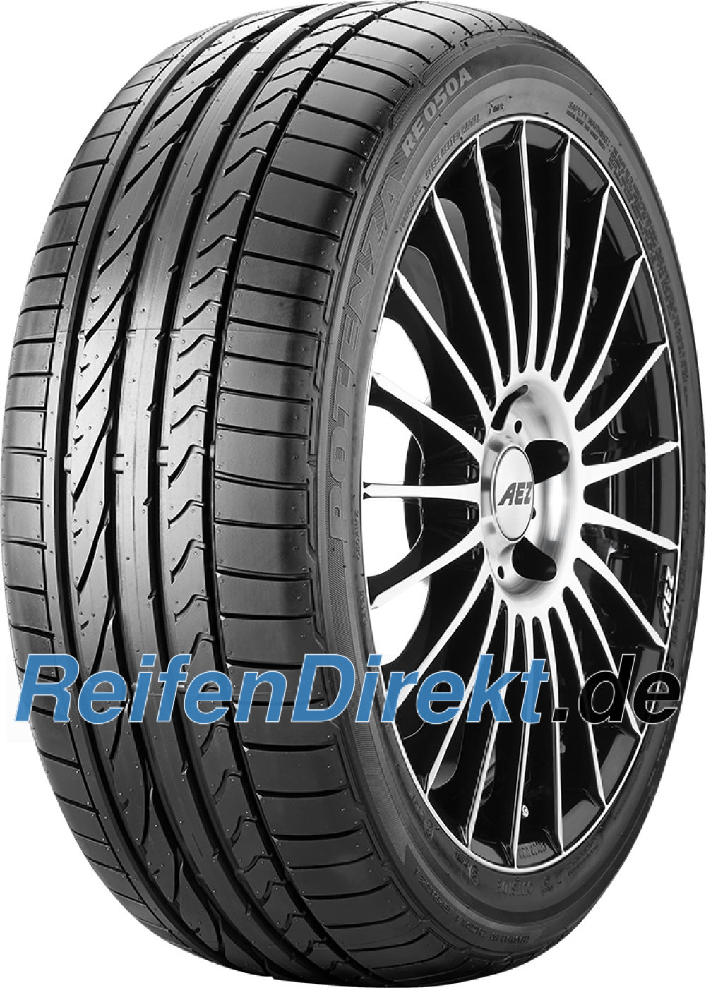 Bridgestone Potenza RE 050 A ( 285/30 ZR19 98Y XL MO1, mit Felgenschutz (MFS) )