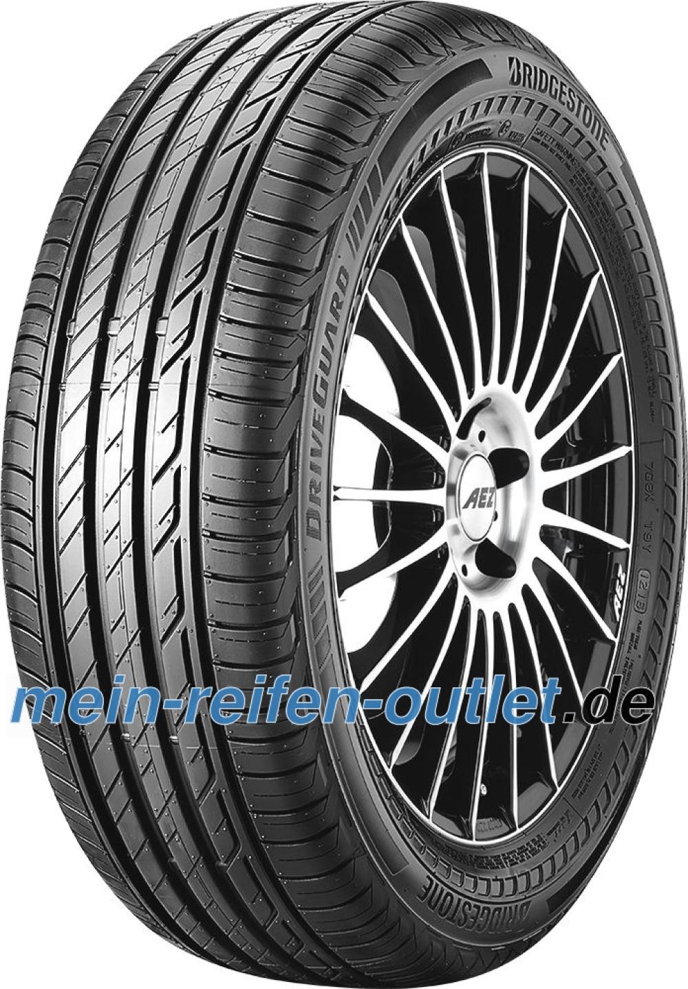 Bridgestone DriveGuard RFT ( 225/40 R18 92Y XL runflat, mit Felgenschutz (MFS), DriveGuard )