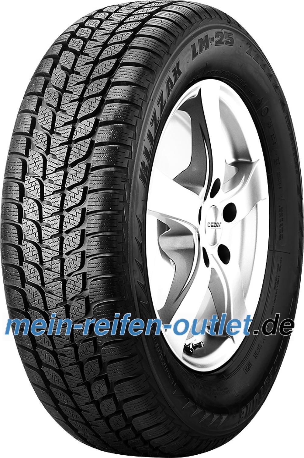 Bridgestone Blizzak LM-25 RFT ( 205/55 R16 91H *, mit Felgenschutz (MFS), runflat )