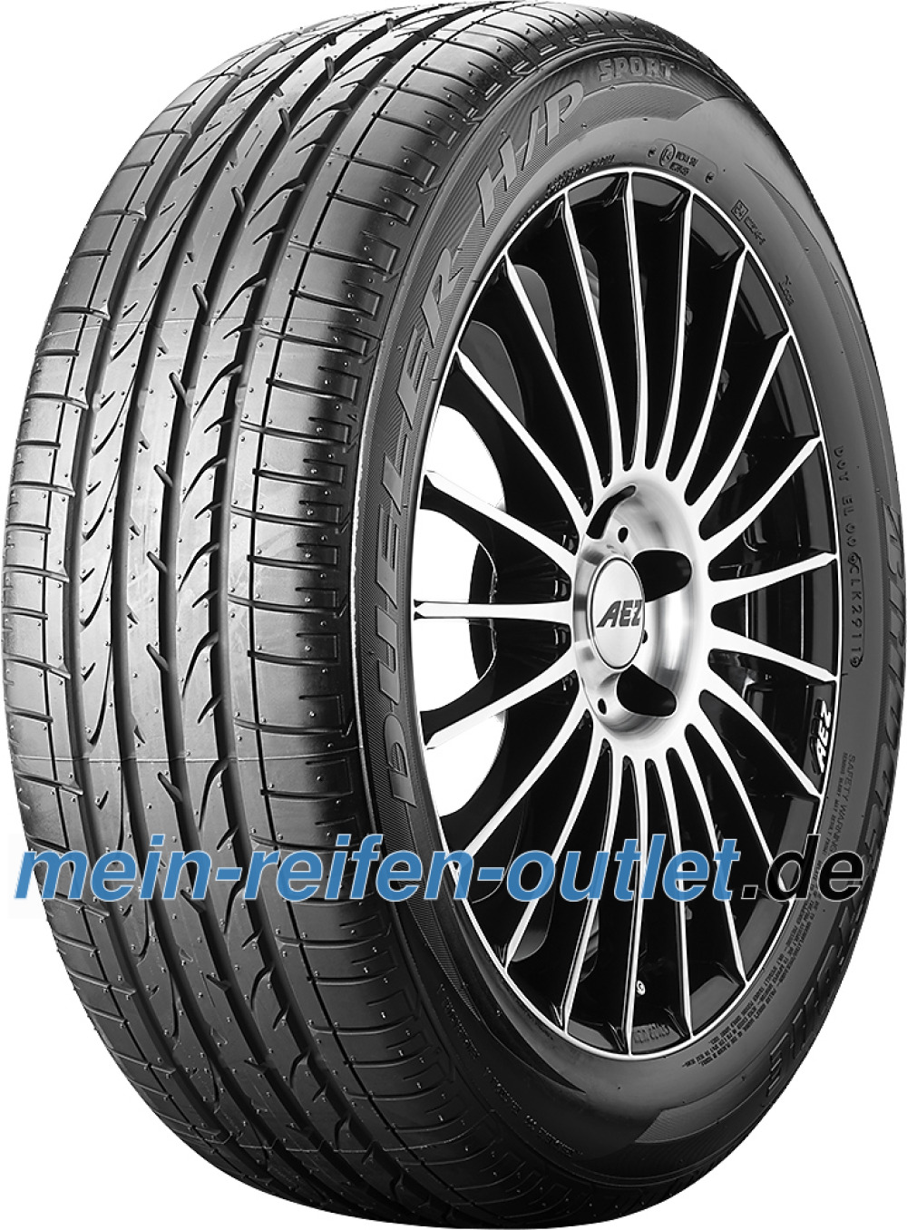 Bridgestone Dueler H/P Sport ( 285/45 R19 107W mit Felgenschutz (MFS) )