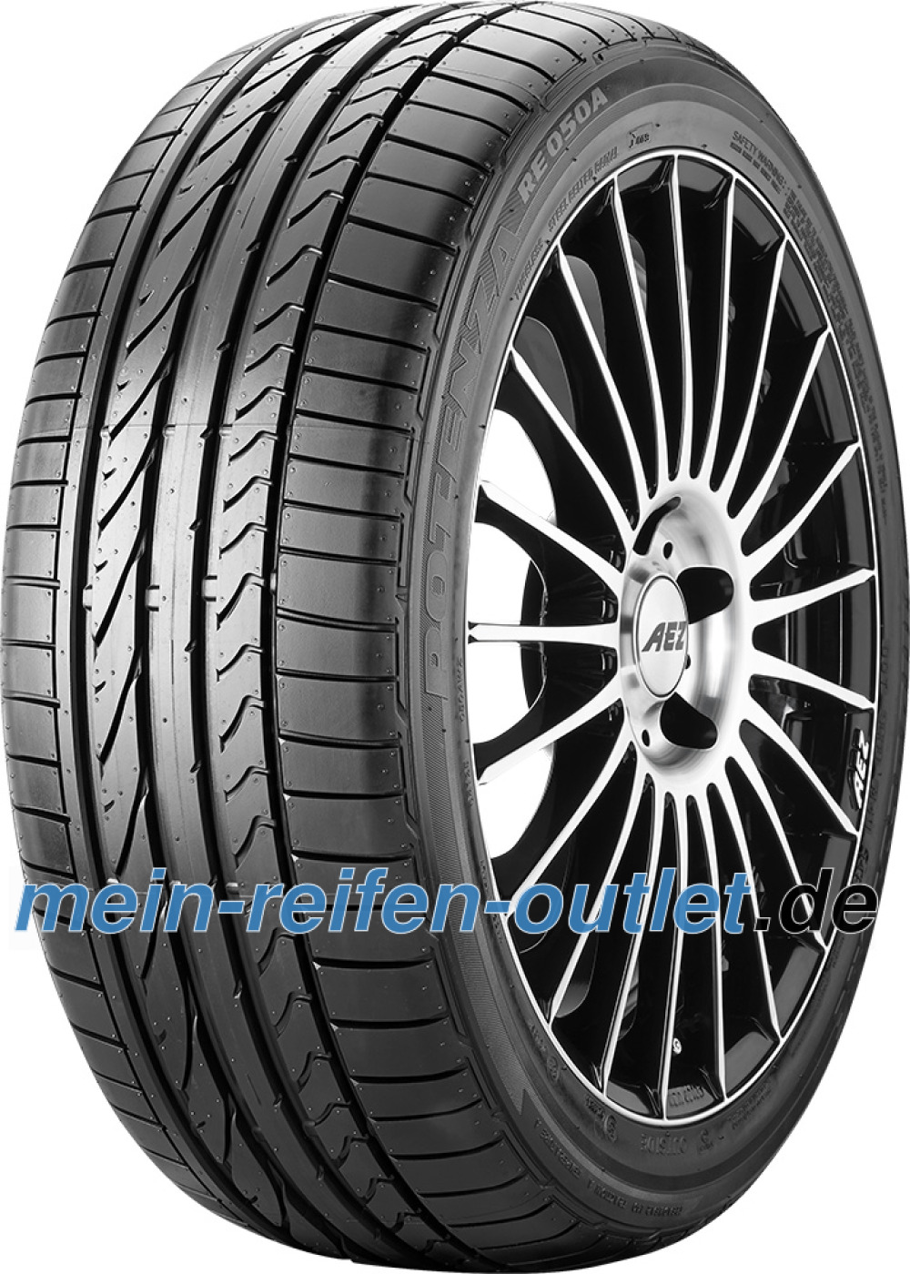 Bridgestone Potenza RE 050 A ( 245/35 ZR20 (91Y) mit Felgenschutz (MFS) )