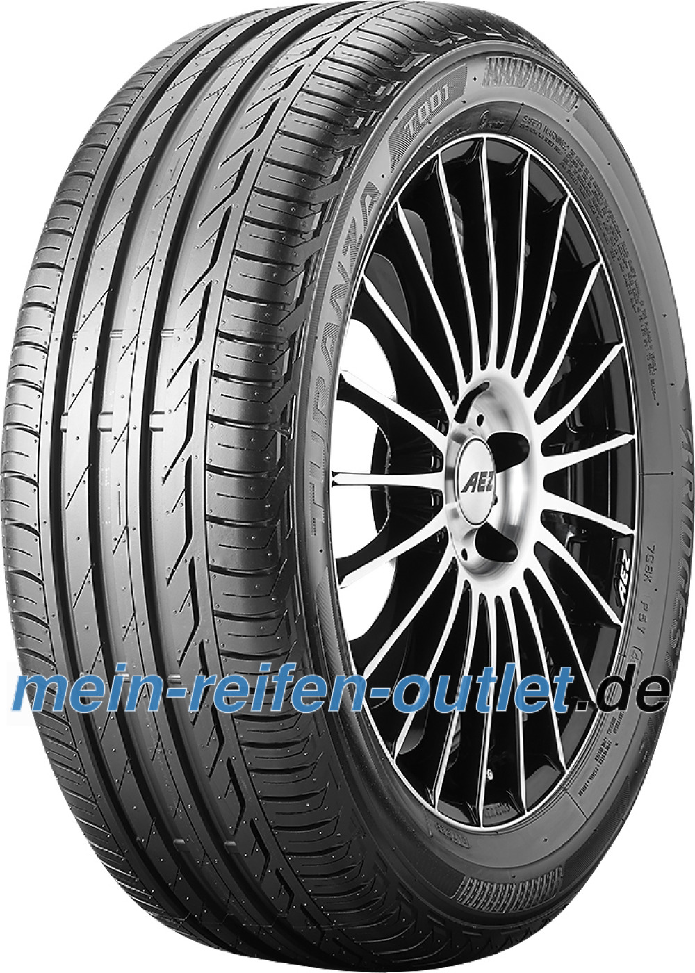 Bridgestone Turanza T001 ( 215/55 R17 94V AO )