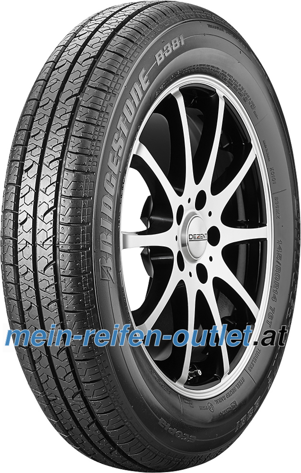 Bridgestone B 381 ( 145/80 R14 76T WW 40mm )