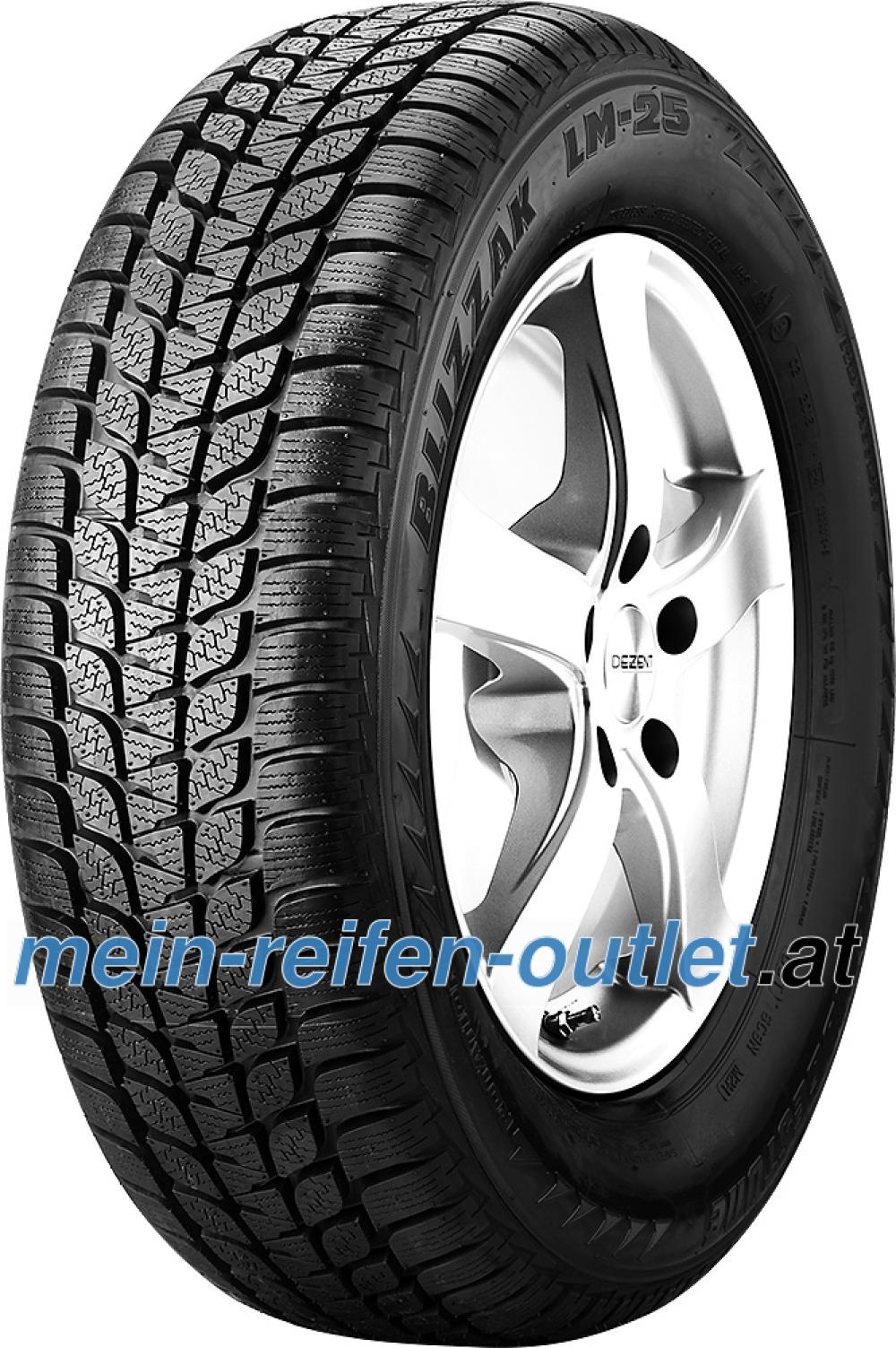 Bridgestone Blizzak LM-25 RFT ( 205/55 R16 91H , runflat, *, mit Felgenschutz (MFS) )