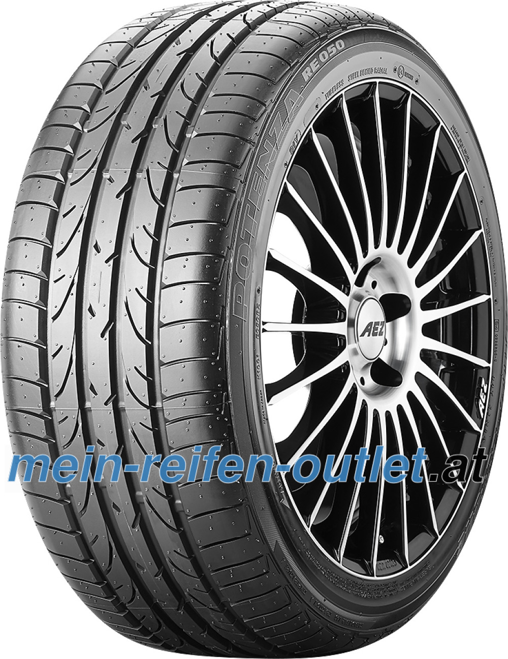 Bridgestone Potenza RE 050 RFT ( 225/50 R17 94Y runflat, *, mit Felgenschutz (MFS) )