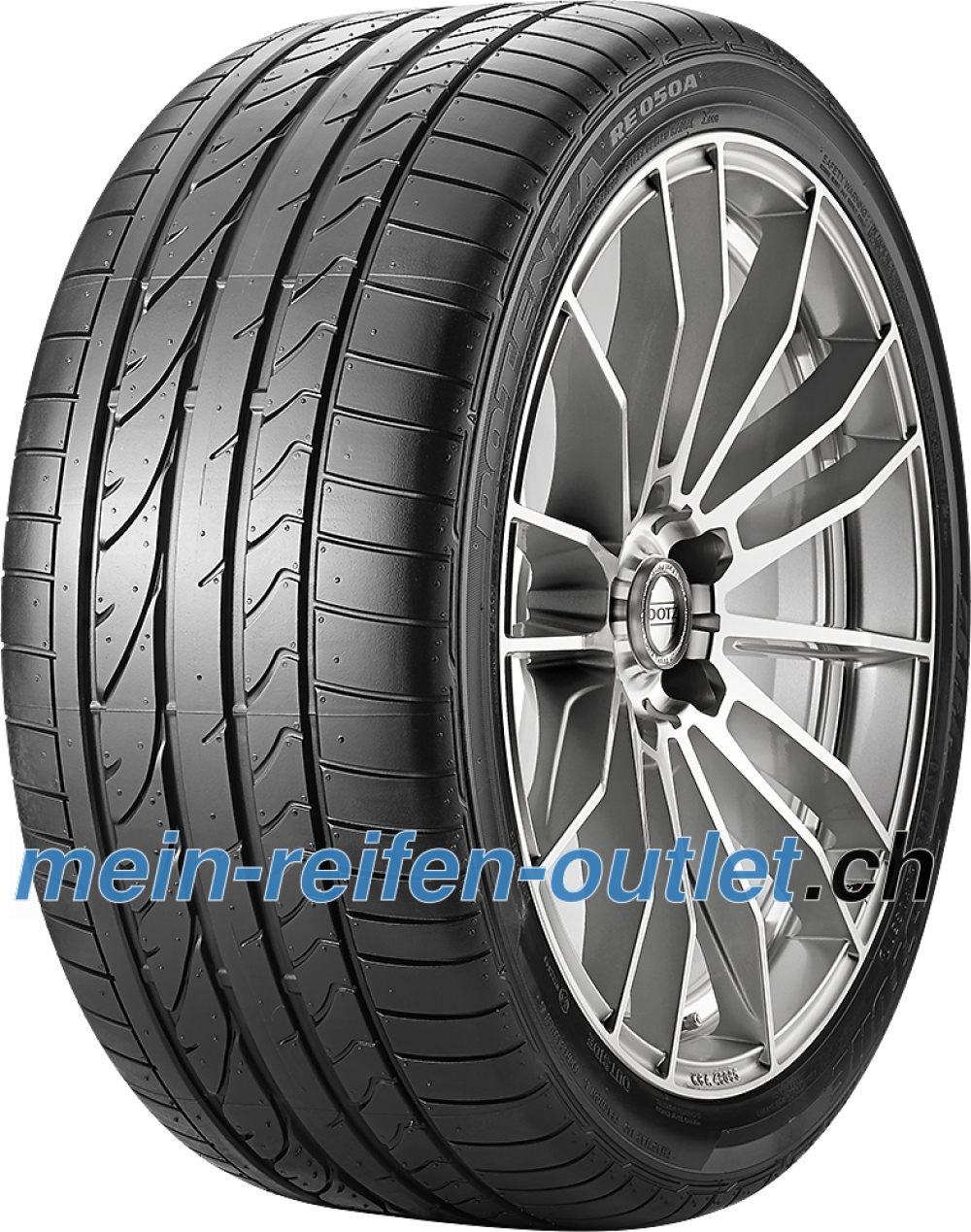Bridgestone Potenza RE 050 A RFT ( 205/45 R17 88V XL *, runflat, mit Felgenschutz (MFS) )