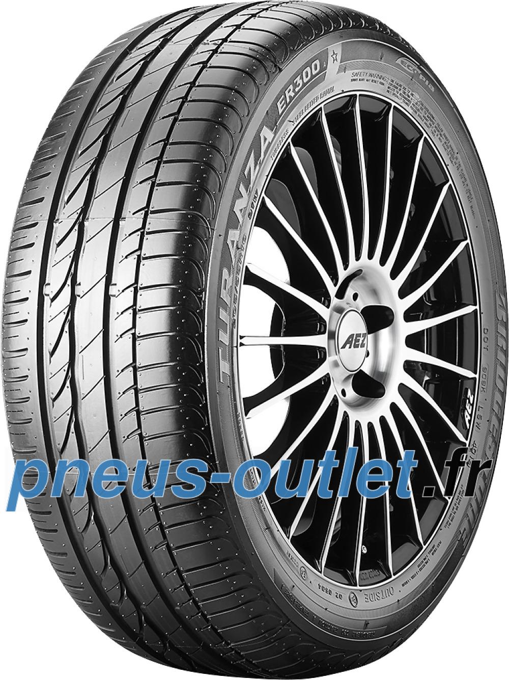 Bridgestone Turanza ER 300A Ecopia RFT ( 225/55 R16 95W runflat, *, avec protège-jante (MFS) )