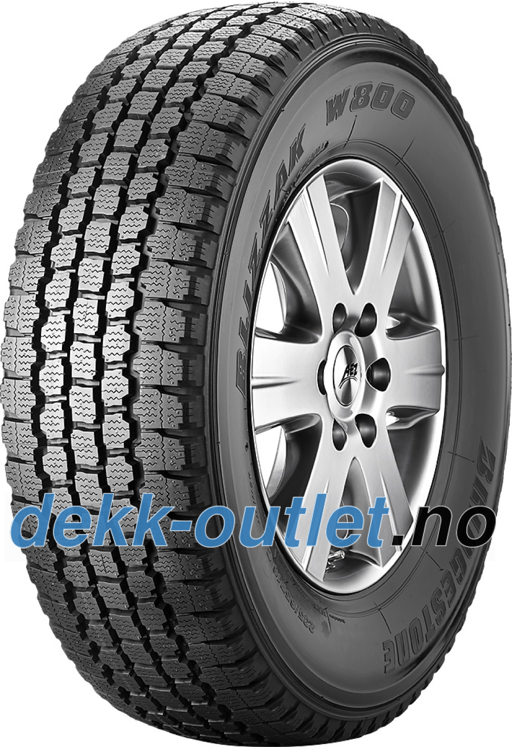 Bridgestone Blizzak W800 ( 195 R14C 106/104R 8PR )