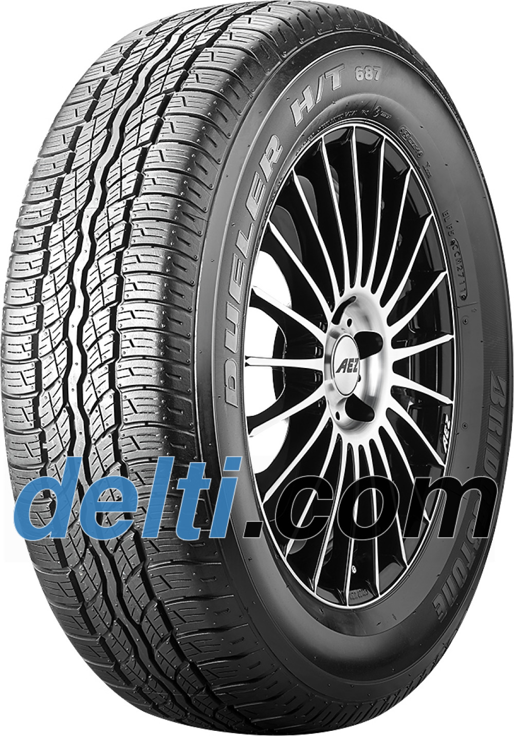 Bridgestone Dueler 687 H/T ( 215/70 R16 100H )