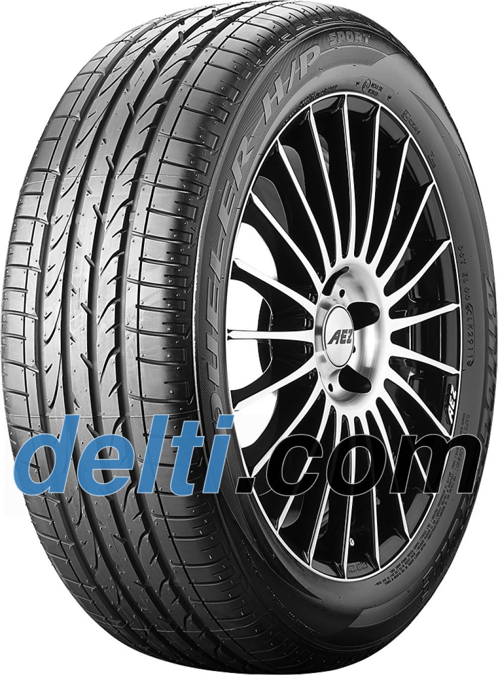 Bridgestone Dueler H/P Sport RFT ( 225/45 R18 91V *, med felgbeskyttelse (MFS), runflat )