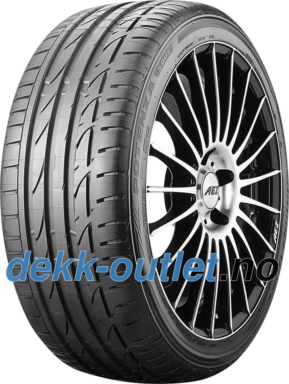Bridgestone Potenza S001 ( 255/35 R20 97Y XL AO, med felgbeskyttelse (MFS) )