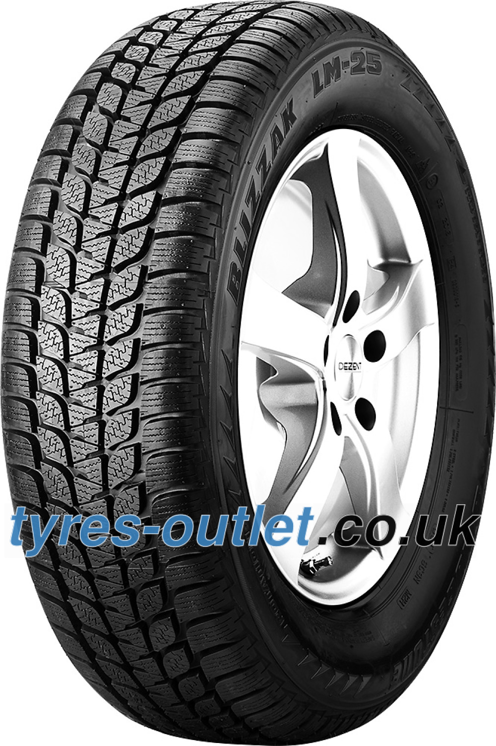 Bridgestone Blizzak LM-25 RFT ( 205/55 R16 91H , runflat, *, with rim protection (MFS) )