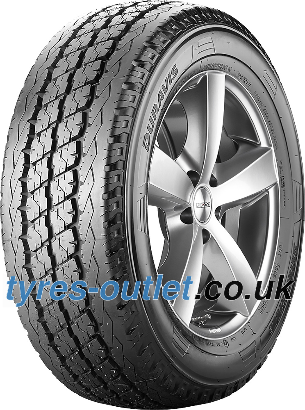 Bridgestone Duravis R 630 ( 185/75 R14C 102/100R )