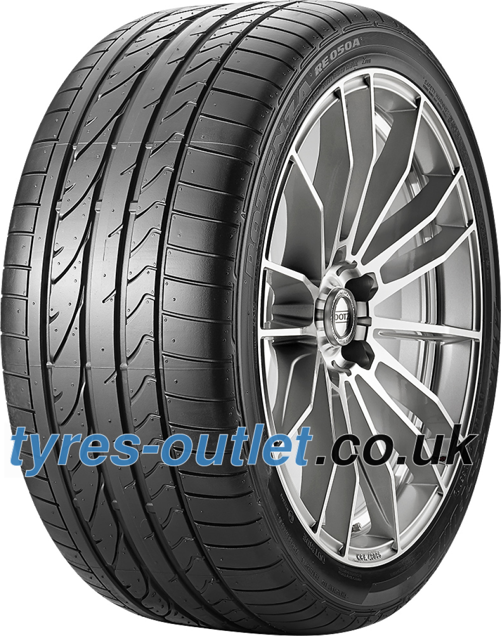 Bridgestone Potenza RE 050 A RFT ( 205/45 R17 88V XL *, runflat, with rim protection (MFS) )
