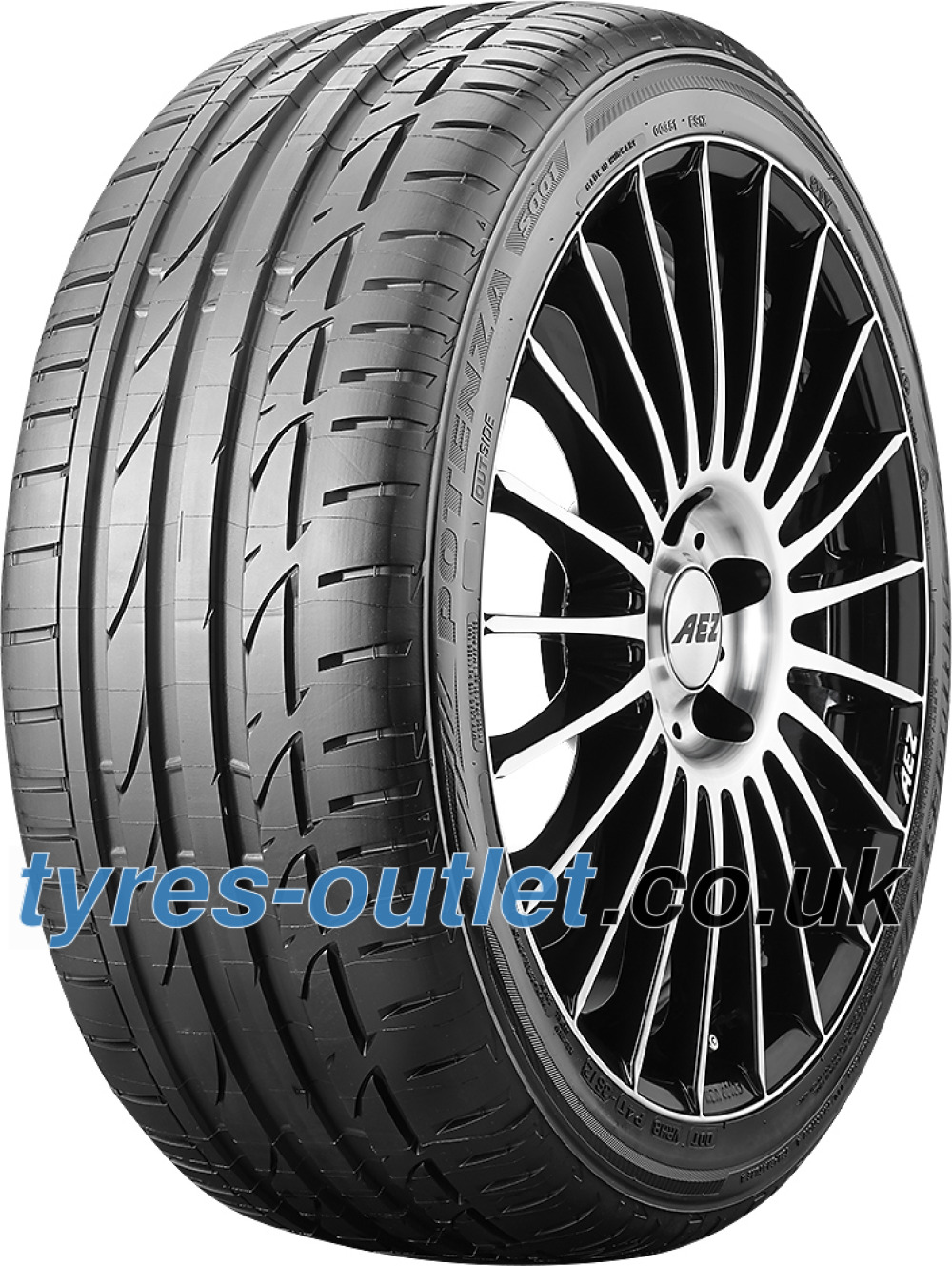 Bridgestone Potenza S001 ( 255/45 R18 99Y with rim protection (MFS) )