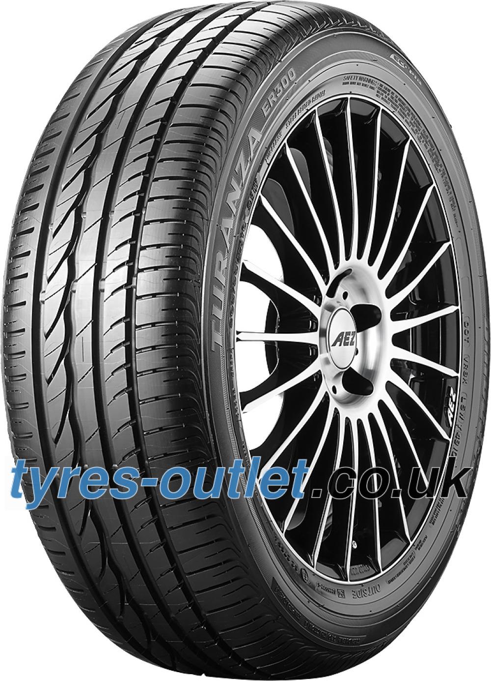 Bridgestone Turanza ER 300 Ecopia ( 215/55 R17 94W with rim protection (MFS) )