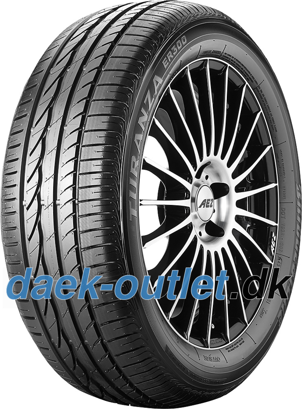 Bridgestone Turanza ER 300 ( 245/45 R18 100Y XL AO )