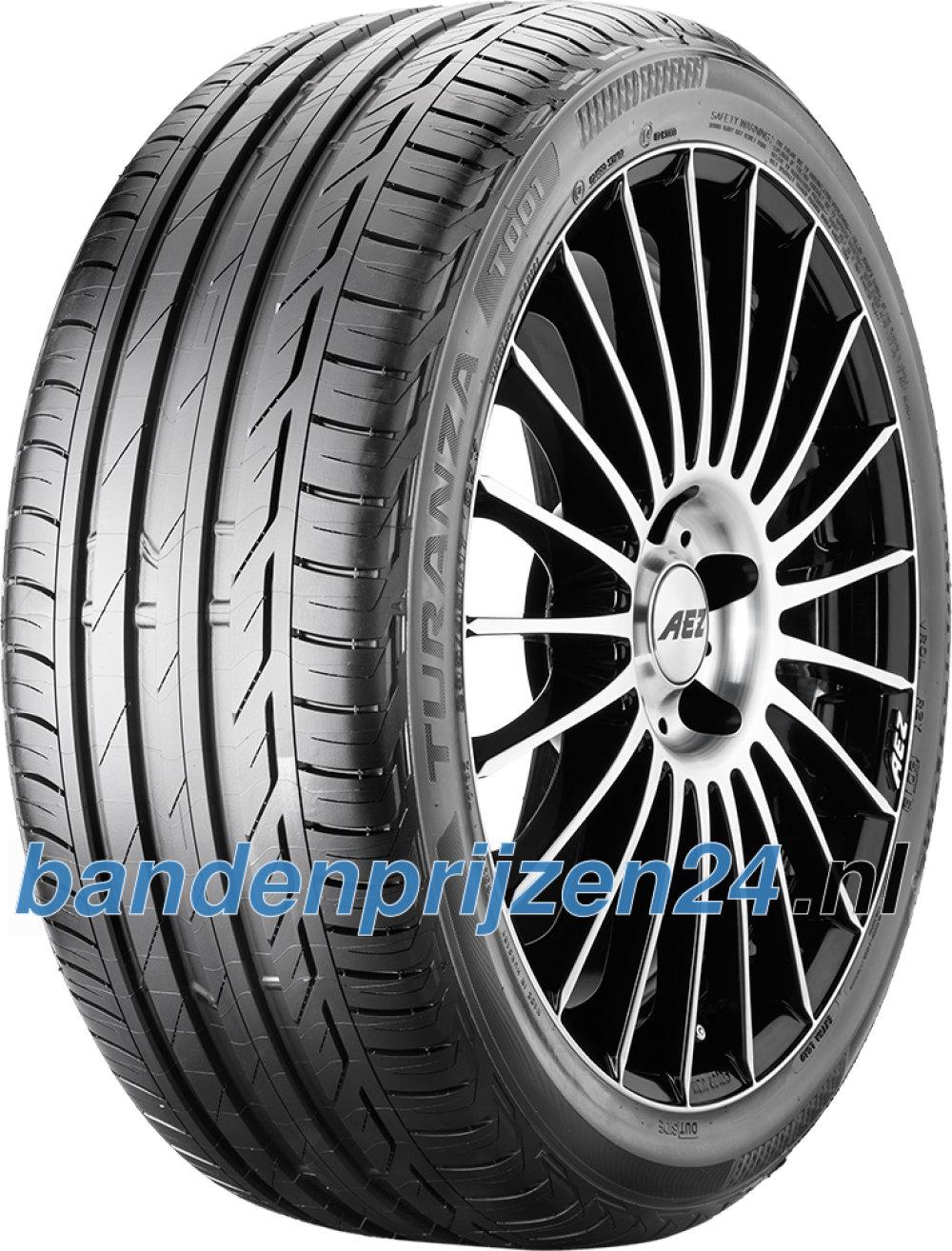 Bridgestone Turanza T001 Evo ( 215/50 R17 95W XL met velgrandbescherming (MFS) )