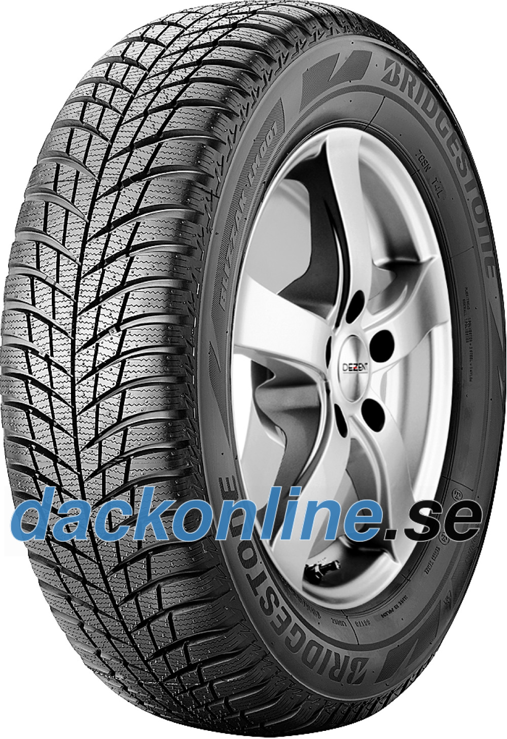 Bridgestone Blizzak LM 001 ( 185/65 R15 88T , med fälg skyddslist (MFS) )