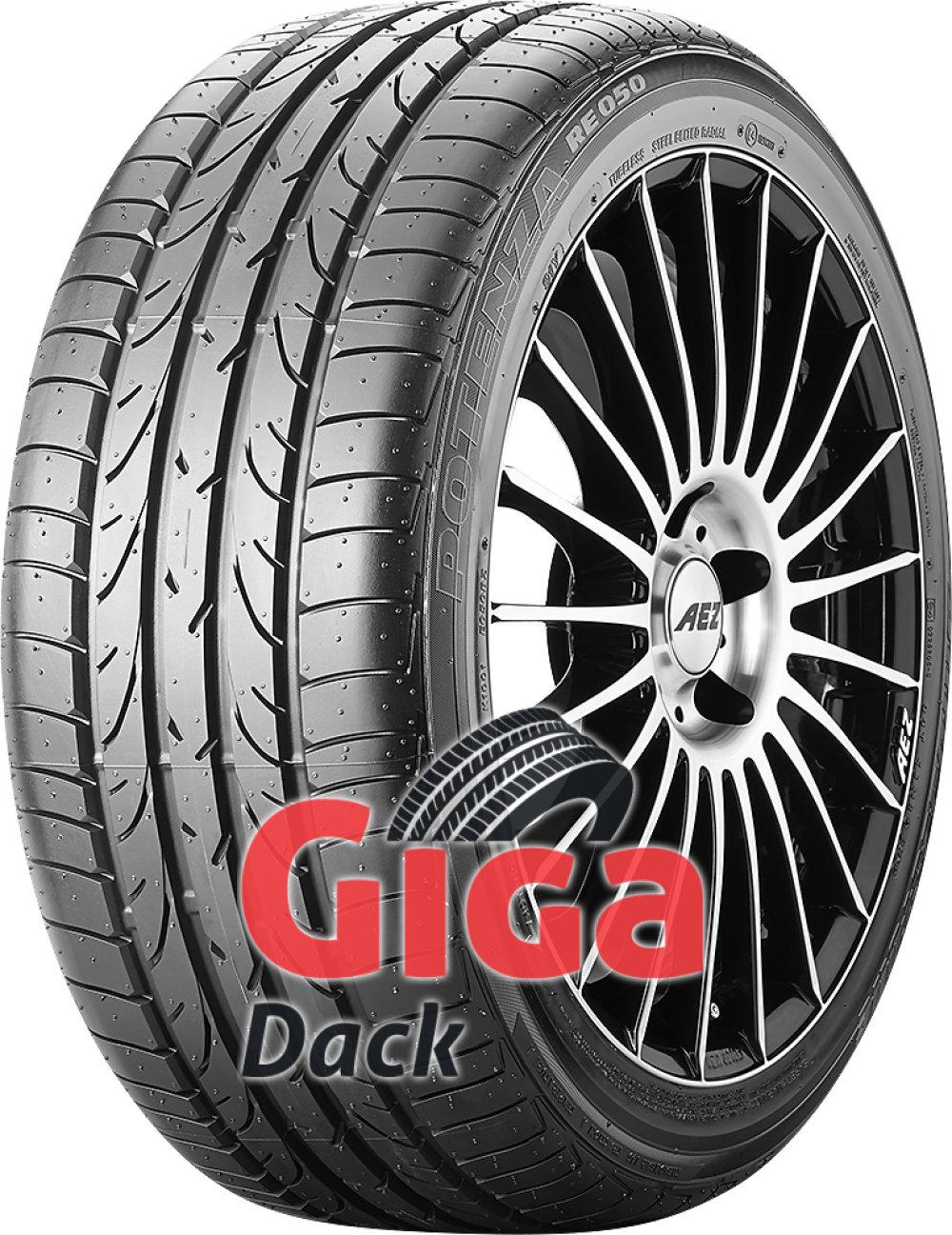 Bridgestone Potenza RE 050 EXT ( 265/40 R18 97Y MOE, runflat, med fälg skyddslist (MFS) )